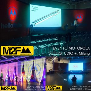 Evento Motorola Superstudio +, Milano